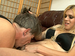 Humiliation abuse blowjob. Naughty tranny demands a blowjob