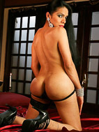 Melissa raven Melissa Raven. Naughty Melissa strips on the bed